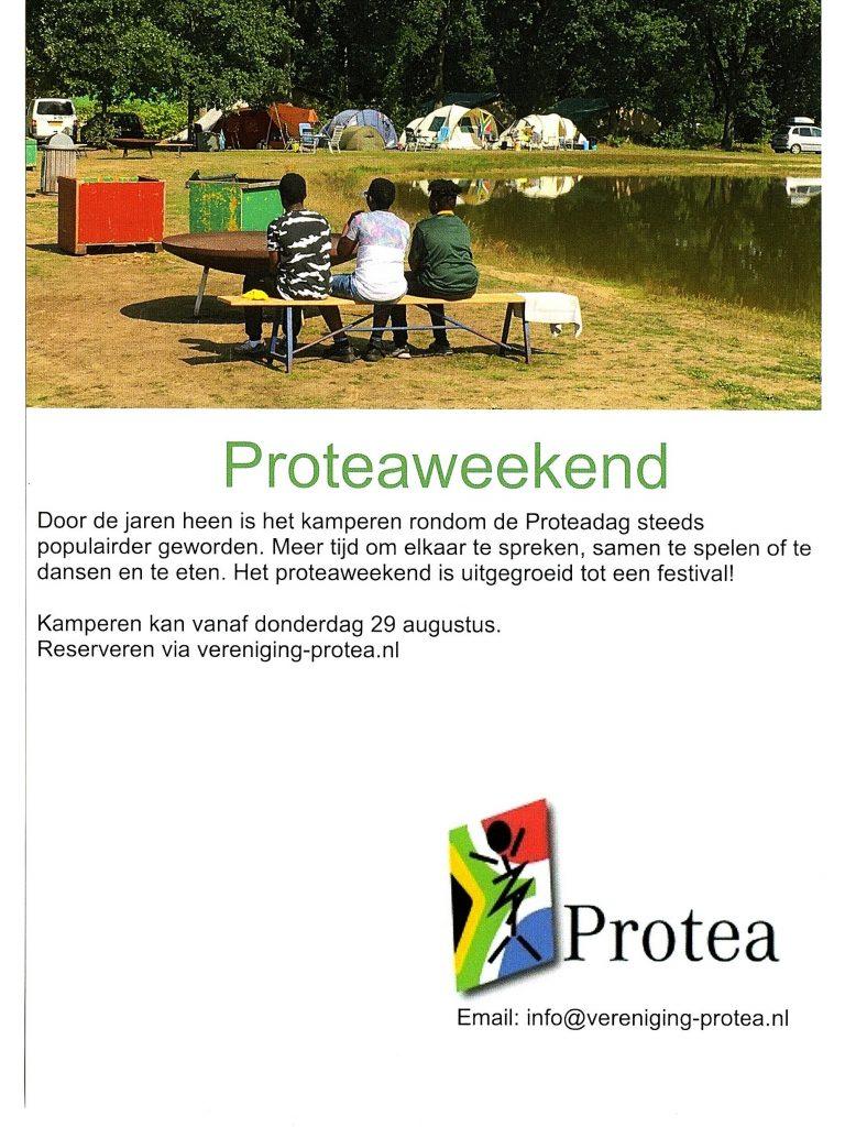 Flyer Proteaweekend